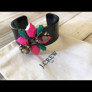 J. Crew Jewelry - J. Crew Floral Design Bracelet